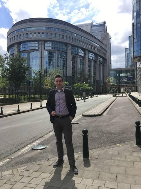 PE 2 - Wizyta w Parlamencie Europejskim oraz w Ambasadzie RP w Brukseli – czyli seminarium naukowe VPJ