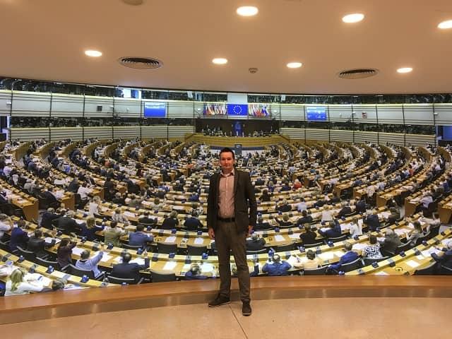 PE 7 - Wizyta w Parlamencie Europejskim oraz w Ambasadzie RP w Brukseli – czyli seminarium naukowe VPJ